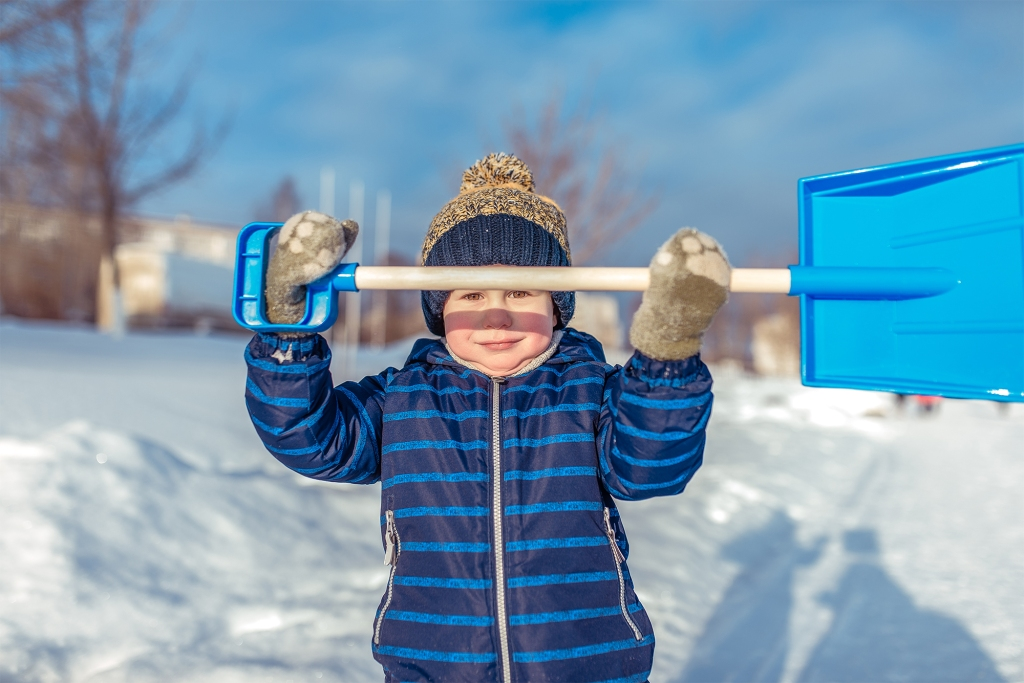 Help protect water by shoveling your snow as soon as possible.
