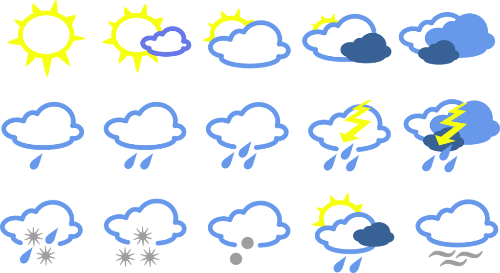 illustration of weather patterns